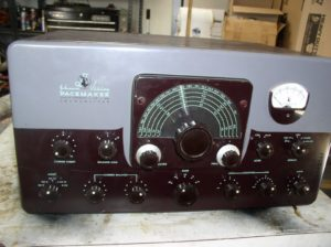 A later model of the Johnson Viking Pacemaker CW/SSB/AM transceiver
